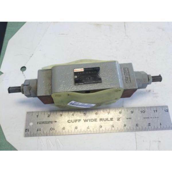 NEW Canada Australia REXROTH Z2FS 16-8-31/S, 09W06,  R900459203 HYDRAULIC FLOW CONTROL VALVE AO #1 image