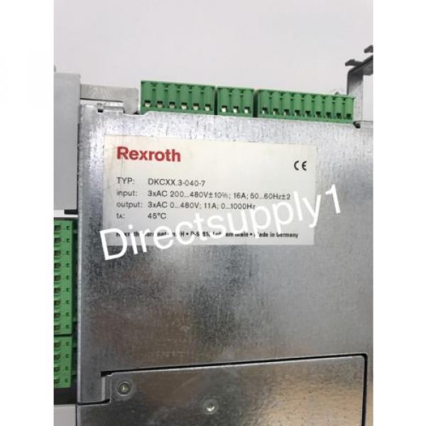 Rexroth Australia France EcoDrive DKCXX.3-040-7 Servo Drive Module DKC02.3-040-7-FW #10 image