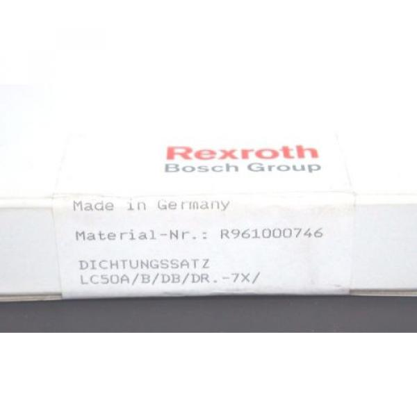 NEW Dutch Japan SEALED BOSCH REXROTH R961000746 CARTRIDGE VALVE SEAL KIT LC50A/B/DB/DR.-7X #2 image