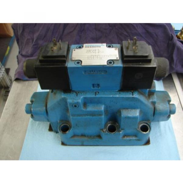 REXROTH China Greece DIRECTIONAL VALVE # H 4WEH22HD74/OF6EW110N9 /  4WE6D61/OFEW11ON9Z45/B12 #1 image
