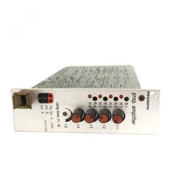 BOSCH Italy Italy REXROTH VT3000S3X PROP. AMPLIFIER CONTROL BOARD W/ ZP1S3X #7 image