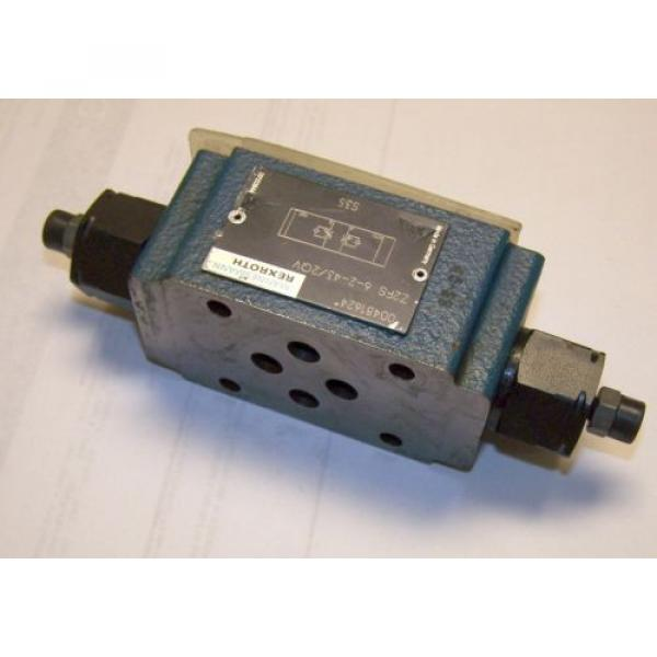 REXROTH Dutch Australia Z2FS-6-2-43-2GV FLOW CONTROL VALVE #3 image