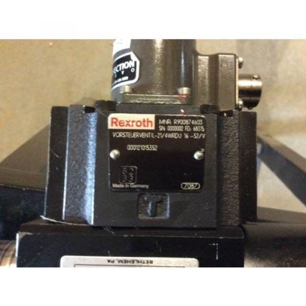 Rexroth India Italy Hydraulics servo valve, # 4WRDU 16 W200L-51/6L15K9/VR, rebuilt #4 image