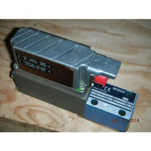 Bosch Canada Germany Rexroth 0 811 402 070 Hydraulic Proportional Valve DBETBEX-1X/315G24K31A1M #1 image