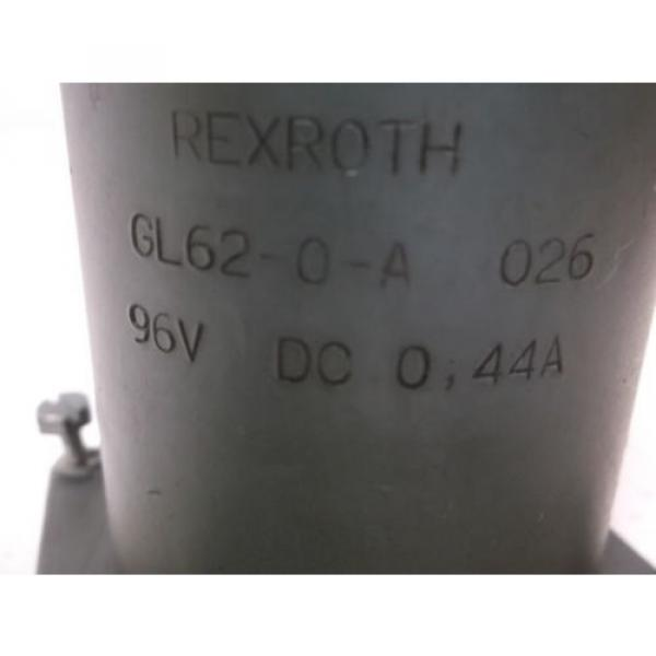 REXROTH Canada Mexico GL62-0-A VALVE SOLENOID *USED* #2 image