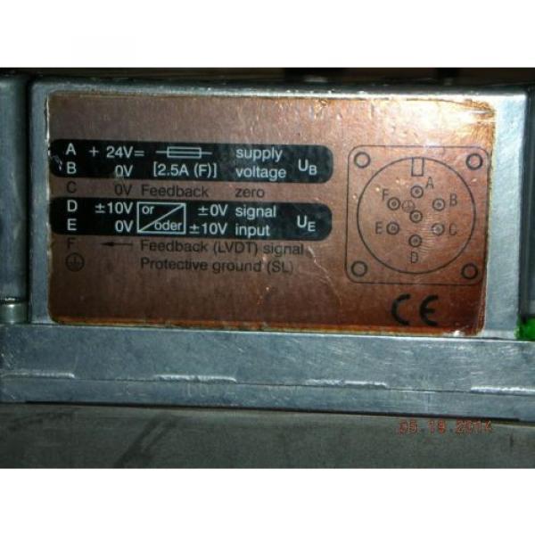 Bosch Canada Germany Rexroth 0 811 402 070 Hydraulic Proportional Valve DBETBEX-1X/315G24K31A1M #2 image