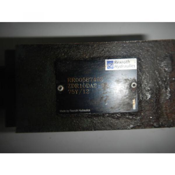Rexroth India Greece ZDR10DA2-51/75Y/12 D05 Hydraulic Reducing Control Valve #2 image