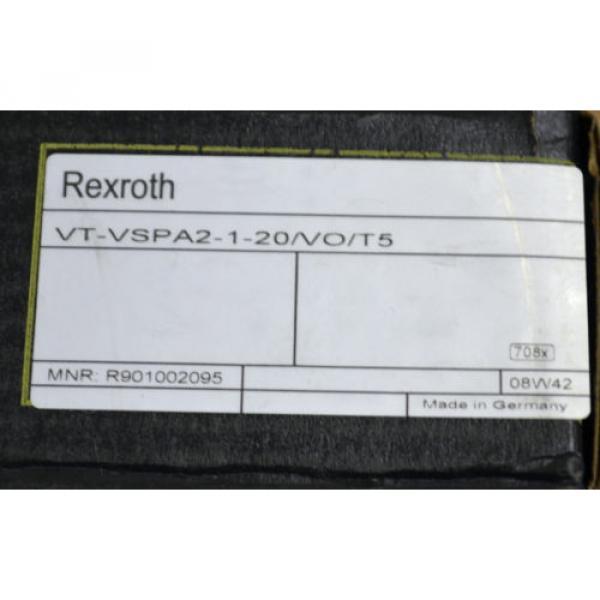 REXROTH Mexico India VT-VSPA2-1-20/VO/T5 MANNESMANN MNR: R901002095 NEU OVP VERSCHWEISST #2 image