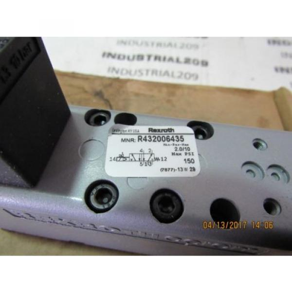 REXROTH France Canada CERAM VALVE RT32006435 GT-010061-02440 NEW #3 image