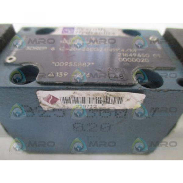 REXROTH Singapore Mexico 3DREP6C-20/25EG24N9K4/M PROPORTIONAL PRESSURE REDUCING VALVE *USED* #3 image
