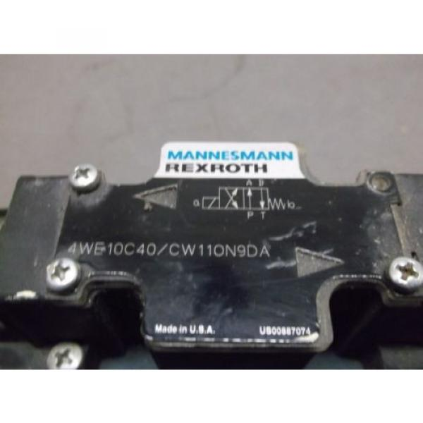 Rexroth France Egypt 4WE10C40/CW11ON9DA Hydraulic Valve #4 image