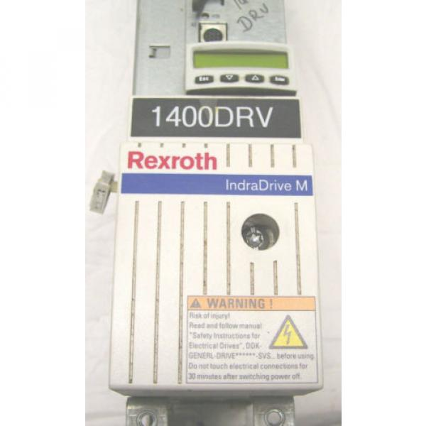 REXROTH Dutch Egypt  SERVO DRIVE  HMS01.1N-W0054  HMS01.1N-W0054-A-07-NNNN  60 Day Warranty! #2 image