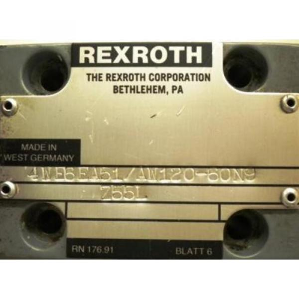 REXROTH Dutch Korea VALVE 4WE6EA51/AW120-60N9 #2 image