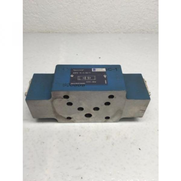 Rexroth Korea Singapore Z2FS 10-5-32/V Throttle Check Valve A212-356 (B49) #1 image