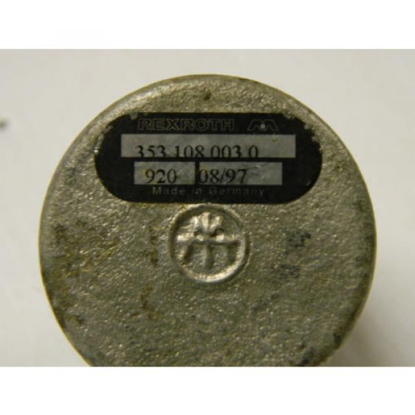 "NEW Canada Australia REXROTH VALVE 353 108 003 0 3531080030 1/4"" NPT #2 image"