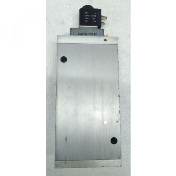 3723572220 Egypt USA REXROTH PNEUMATICS 3/2 WAY SOLENOID VALVE 24VDC Aventics Wabco Marine #2 image