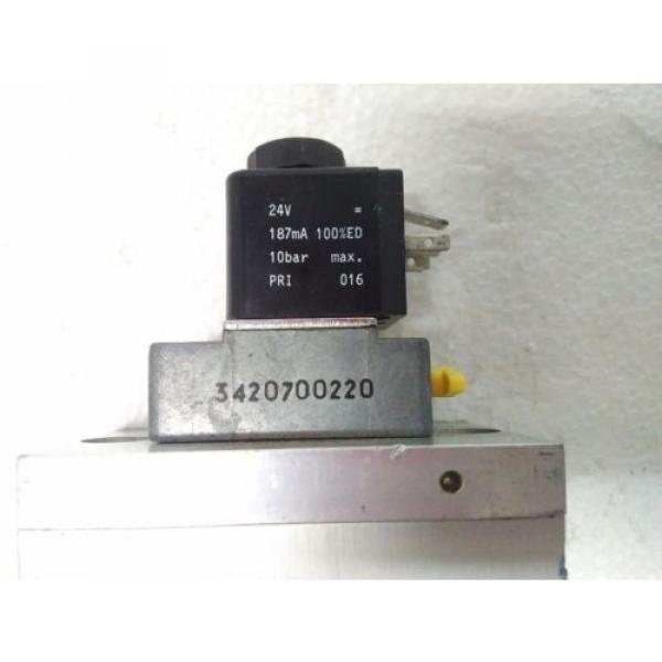 3723572220 Egypt USA REXROTH PNEUMATICS 3/2 WAY SOLENOID VALVE 24VDC Aventics Wabco Marine #3 image