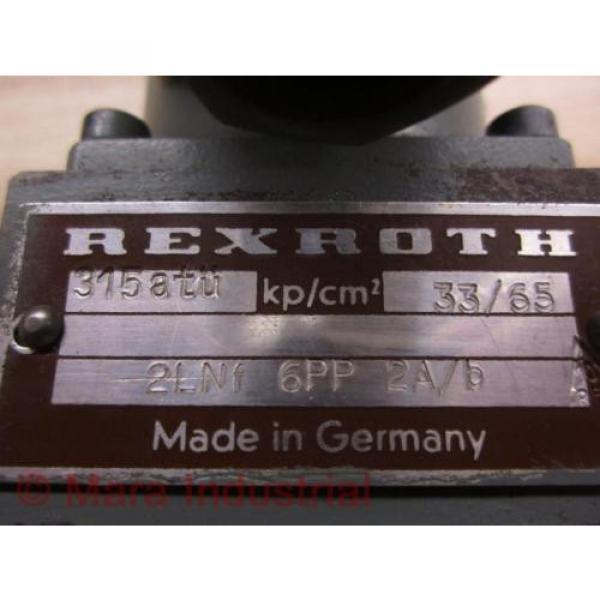 Rexroth Mexico Mexico 2LNF 6PP 2A/B Control Valve - New No Box #2 image