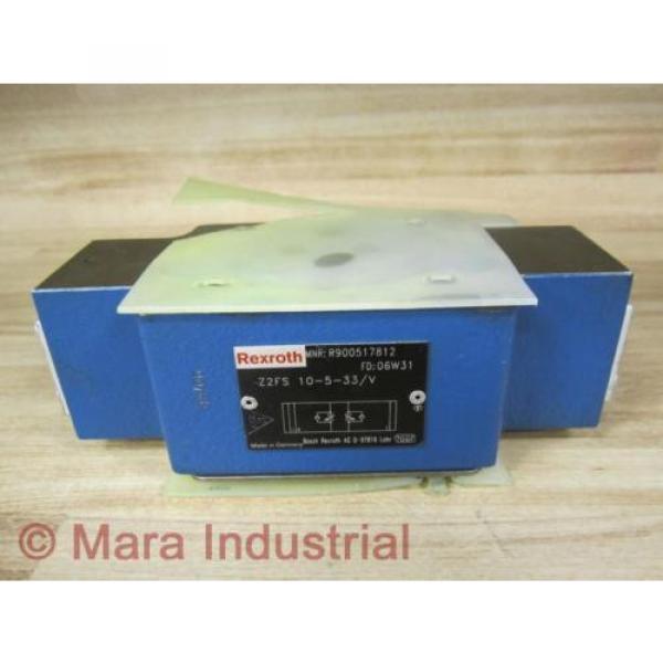 Rexroth Singapore Greece Bosch R900517812 Check Valve Z2FS 10-5-33/V - New No Box #1 image