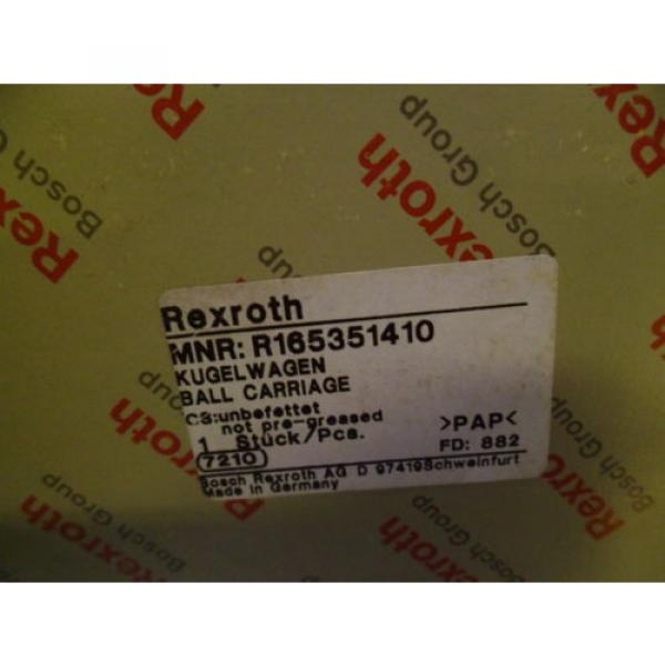 REXROTH Dutch USA R165351410 LINEAR BEARING *NEW IN BOX* #2 image
