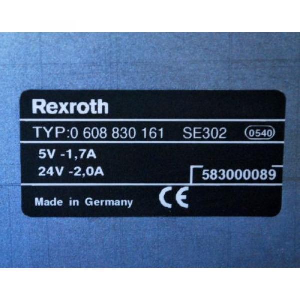 Bosch Italy Australia Rexroth 0 608 830 161 Controller, 5V-1.7A, 24V-2.0A #2 image