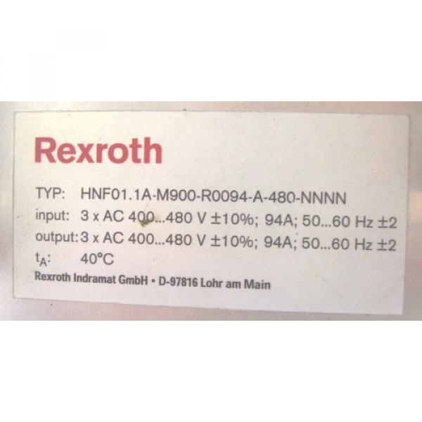 REXROTH USA Korea BOSCH   SERVO DRIVE   HNF01.1A-M900-R0094-A-480-NNNN    60 Day Warranty! #7 image