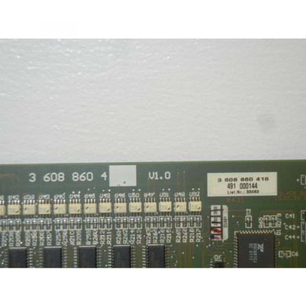 REXROTH Mexico Germany 3 608 860 416 USED BOARD FOR PE 110 ANALOG CONTROLLER 3608860416 #2 image