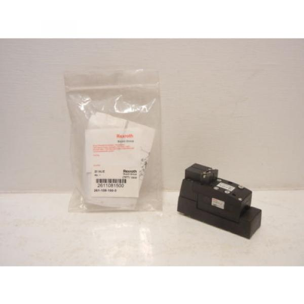 REXROTH China Canada BOSCH 261-108-150-0 NEW 261 PNEUMATIC VALVE 2611081500 #1 image