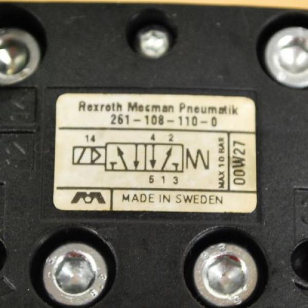Rexroth France Russia 261-108-110-0 Pneumatic Valve, 24 VDC 2W Coil, 049-384-580-2 Valve #2 image