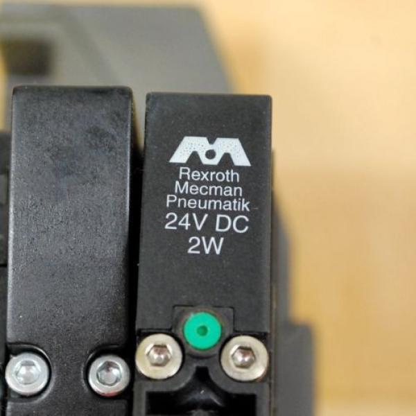 Rexroth France Russia 261-108-110-0 Pneumatic Valve, 24 VDC 2W Coil, 049-384-580-2 Valve #3 image