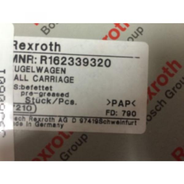 New Mexico Egypt Rexroth Runner Block Linear Bearing - R162339320 #5 image