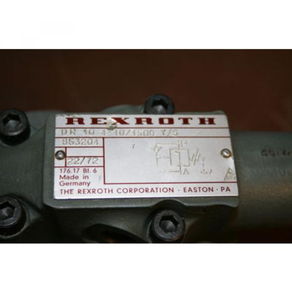 Pressure Australia china reducing valve DR10-4-10/1500YV Rexroth Unused #3 image