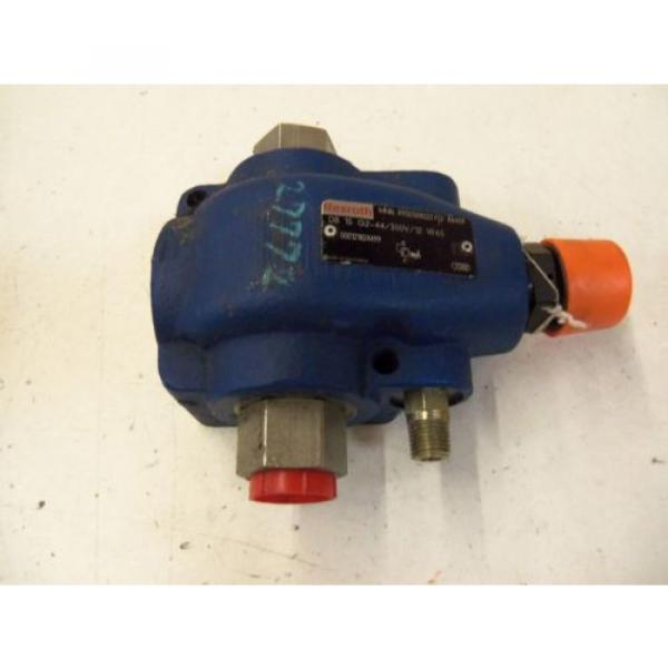 REXROTH Italy Greece DB 15 G2-44/350V/12 W65 VALVE RELIEVE PILOT OPERATED R900388022 *USED* #1 image