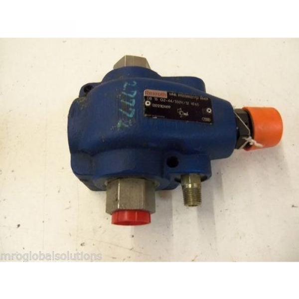 REXROTH Italy Greece DB 15 G2-44/350V/12 W65 VALVE RELIEVE PILOT OPERATED R900388022 *USED* #4 image