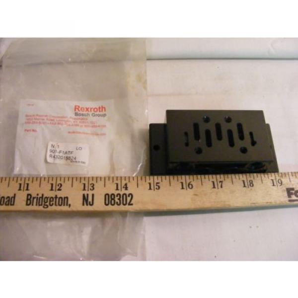 Rexroth Dutch Egypt Bosch 901-F1ATF 1/2 Inch Valve #1 image