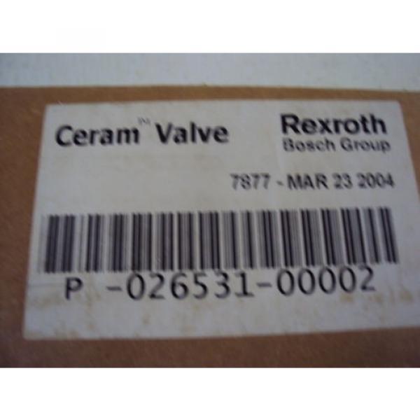 REXROTH China Egypt CERAM VALVE P-026531-00002 #6 image