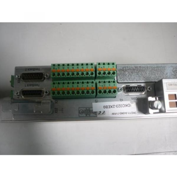 REXROTH France Canada Ecodrive Series Servo - Model:  DKCXX.3-040-7 #5 image
