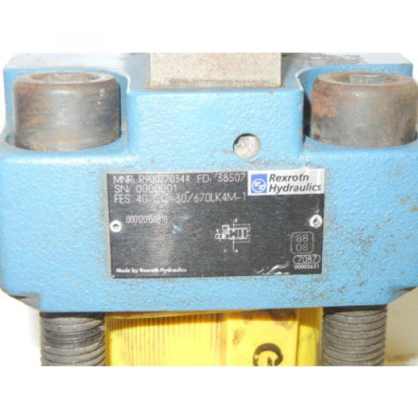 REXROTH China Dutch FES 40 CC-30/670LK4M-1 USED PROPORTIONAL VALVE FES40CC30670LK4M1 #2 image