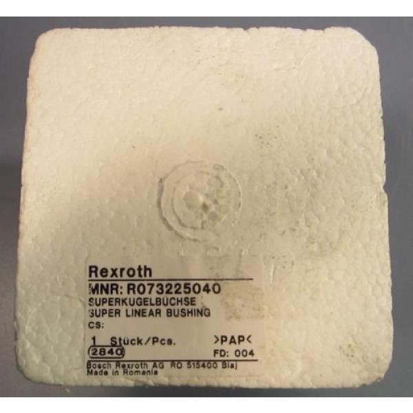 Bosch Mexico china Rexroth Super Linear Bushing R0732-250-40 R073225040 NIB #2 image