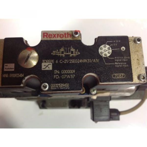 REXROTH Egypt Russia SOLENOID PROP VALVE 3DREPE 6 C-21/25EG24N9K31/A1V R900925484 #2 image