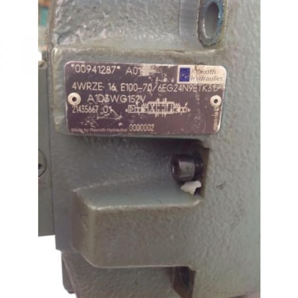 REXROTH Egypt Russia SOLENOID PROP VALVE 3DREPE 6 C-21/25EG24N9K31/A1V R900925484 #4 image