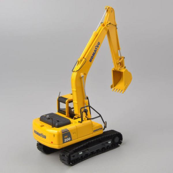 1/50 Scale DieCast Metal Model - Komatsu PC200 Excavator #2 image