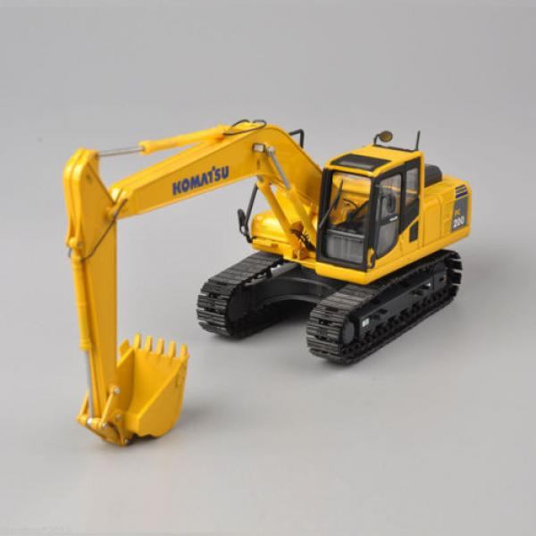 1/50 Scale DieCast Metal Model - Komatsu PC200 Excavator #5 image