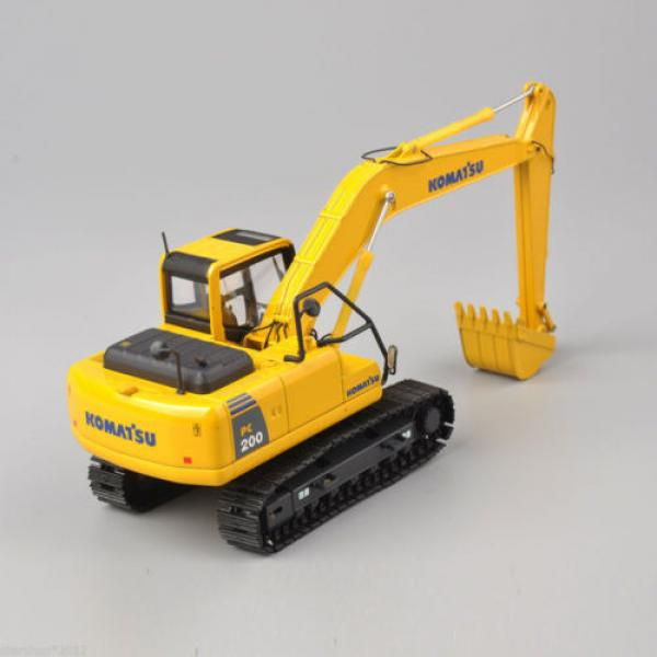 1/50 Scale DieCast Metal Model - Komatsu PC200 Excavator #7 image