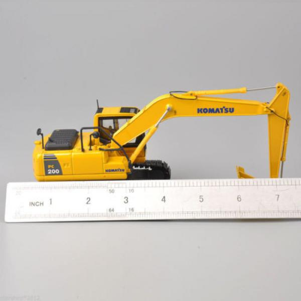 1/50 Scale DieCast Metal Model - Komatsu PC200 Excavator #9 image