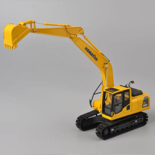 1/50 Scale DieCast Metal Model - Komatsu PC200 Excavator #10 image