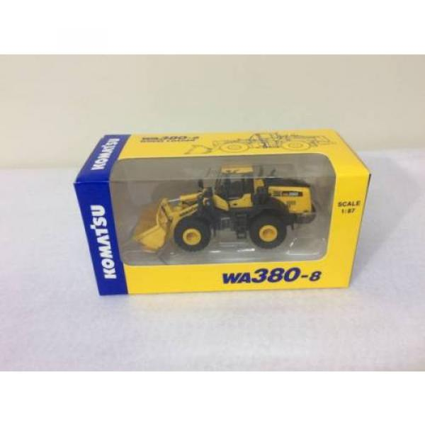 NEW Komatsu Official Wheel Loader diecast model WA380-8 1/87 F/S from JAPAN #1 image