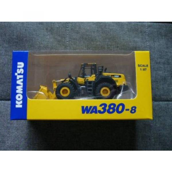 NEW Komatsu Official Wheel Loader diecast model WA380-8 1/87 F/S from JAPAN #2 image