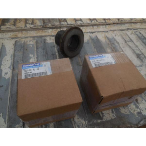 203-70-42182 Bushing's  Arm PC128uu-1 or PC130-8 Komatsu Excavator    NEW #1 image