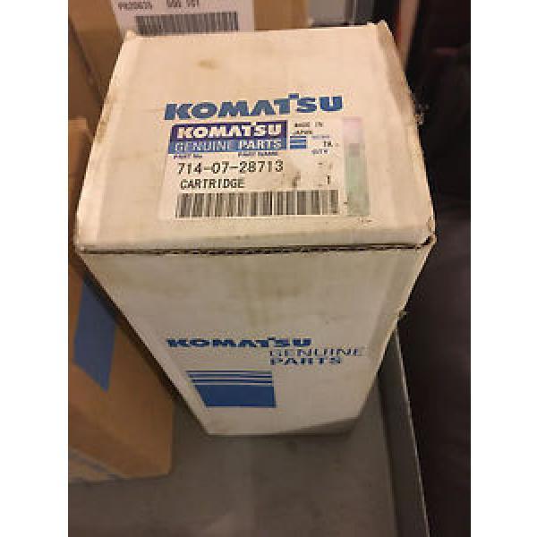 KOMATSU GENUINE HYDRAULIC FILTER 7140728713 #1 image